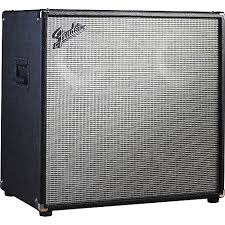Fender Bassman Cabinet Plans by Fender Bassman Pro 410 4x10 Neo Bass Speaker Cabinet Black