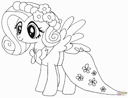 Luxury My Little Pony Coloring Pages Free Princess Celestia In Dress Rarity Of