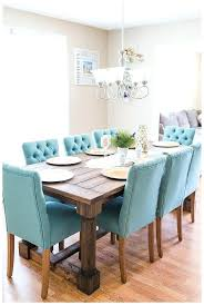 Teal Dining Room Table How To Make A Farmhouse Fresh