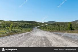 100 Ulnes Empty Toll Road From Ulnes In Norway Stock Photo