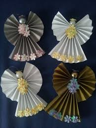 Seashell Christmas Tree Ornaments by Diy Paper Angel Diy Christmas Pinterest Diy Paper Angel And