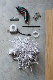 Nyc Christmas Tree Disposal 2015 by Diy String Light Christmas Tree A Pair U0026 A Spare