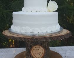 Wood Cupcake Stand Personalized Cake Log Tree