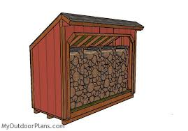 4x10 firewood shed plans myoutdoorplans free woodworking plans