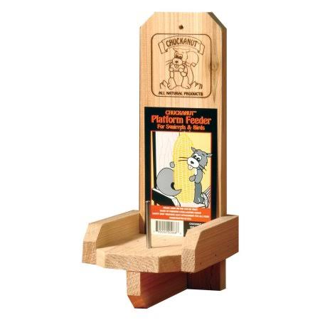 Chuckanut Products Natures Nuts Platform Feeder