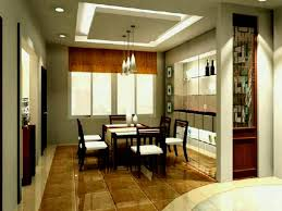 Cheap Cool Interior Design Ideas Modern Minimalist Dining Room With Wooden Table Side Chair Drop Ceiling