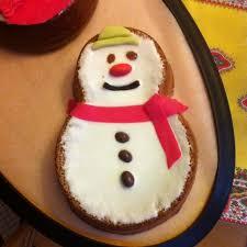 gâteau d anniversaire bonhomme de neige recette de gâteau d