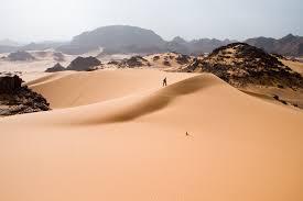 Tadrart Acacus Desert In Western Libya Part Of The Sahara