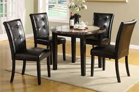Round Dining Table Set For 4 HomesFeed View Larger