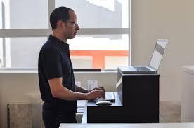 Office Depot Standing Desk Converter by Desks Standing Desk Adapter Modern How To Make A Standing Desk