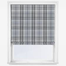 Balmoral Dove Grey Roman Blind Blinds Direct