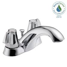 Delta Faucet Rp330 Aerator For by Schon Marx 4 In Centerset 2 Handle High Arc Bathroom Faucet In
