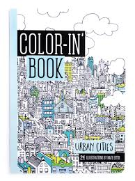 Take The Challenge Of Coloring In Tight Patterns Wherever You Go With Urban Cities Travel