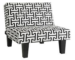 Kebo Futon Sofa Bed Weight Limit by Amazon Com Kebo Chair Black And White Geometric Pattern With