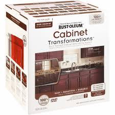 Rustoleum Garage Floor Coating Instructional Dvd by Rust Oleum Cabinet Transformations Cabinet Coating Kit Walmart Com