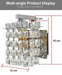 feimefeiyou led kristall wand le wand lichter luminaria home beleuchtung wohnzimmer moderne wand licht lenschirm für bad