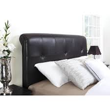 Black Leather Headboard California King by Black Upholstered Headboard Full Size Canada Leather Tufted King