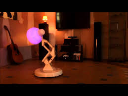 Luxo Jr Collectible Lamp by Robot Arduino Luxo Qui Danse Youtube