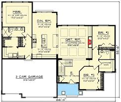 Craftsman Style House Plans Ranch by Best 25 Craftsman Style Home Plans Ideas On Pinterest Craftsman