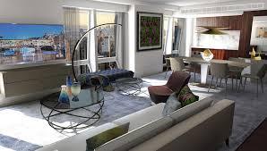 100 Roche Beaubois Langham Place New York Fifth Avenue Introduces Bobois Suites