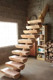 escalier fuste en rondins massifs les fustes normandes
