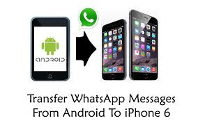 How To Transfer WhatsApp Messages From Android To iPhone 6