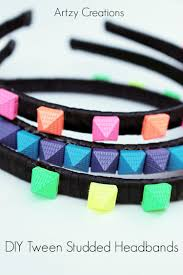 Cool Diy Projectsor Teenagers Step By Outstanding Picture Ideas Interior Design Artzy Creations Studded Headband Main