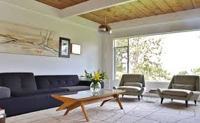 mid century modern living room all modern home designs