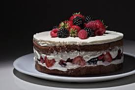 schoko beeren torte rezept für einen cake webundwelt