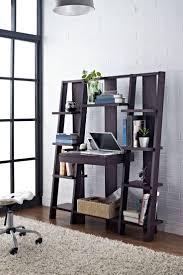 Crate And Barrel Leaning Desk White by Best 20 Ladder Shelf Desk Ideas On Pinterest Ladder Shelves