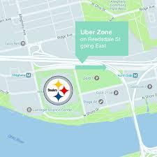 Heinz Field Pittsburgh Steelers Pittsburgh Guide Ride Uber