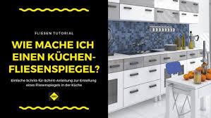 wandfliesen in der küche verlegen sakret
