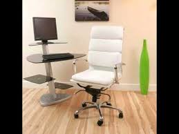 white leather office chair white home office desk chairs