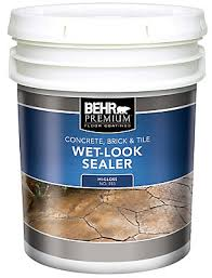Tile Guard Grout Sealer Home Depot by Behr Behr Premium Concrete Brick U0026 Tile Wet Look Sealer High