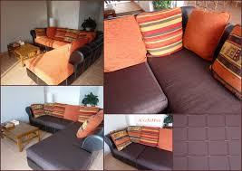refaire coussin canapé avant après l histoire du canapé part 1 seve sa muse