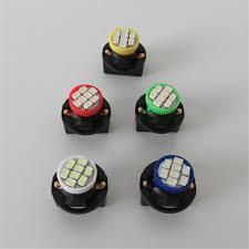 wljh 10x t10 led w5w 12v auto bulb with twist lock led dashboard