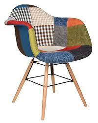 ts ideen design klassiker patchwork sessel retro 50er jahre