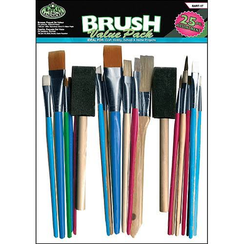 Brush Value Pack - 25 Pack, Assorted