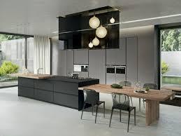 cuisine en l avec ilot central aménager une cuisine design avec ilot central ideeco