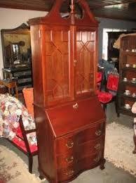 Jasper Cabinet Secretary Desk by Antique Replicia Secretary With Bookcase Antique Book