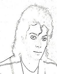 Zonae Coloring People Michael Jackson 26