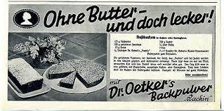 dr oetker nuss tarte kuchen backmischung 380 gramm