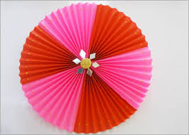 Paper Rosettes Diy Craft For Wall Decoration