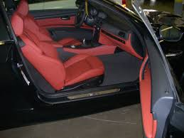 Semi extended leather interior