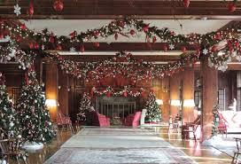 Holiday Christmas Tree At Skytop Lodge