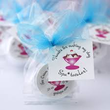 Birthday Party Favors And Spa Gifts By The Favor Stylist