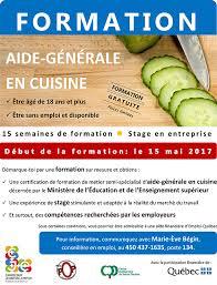 grille d 騅aluation atelier cuisine formation aide générale en cuisine cje thérèse de blainville
