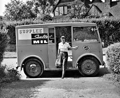 100 The Milk Truck Sealtest Lady Delivery Scene C Flickr