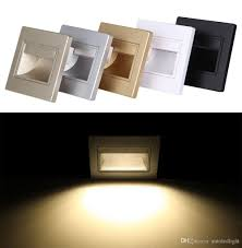 2018 led slide step stair light recessed wall l 1 5w sconces