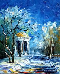 Leonid Afremov Oil On Canvas Palette Knife Buy Original Paintings Art Famous Artist Biography Official Page Online Gallery Large Artwork